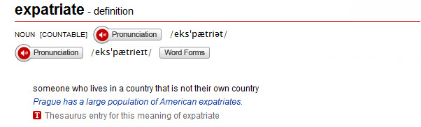 Expatriate Definition