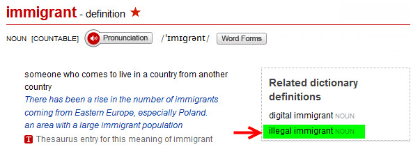 Immigrant Definition